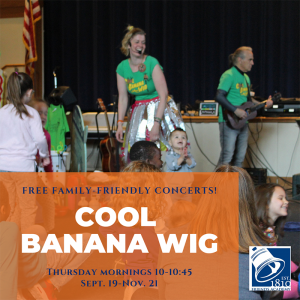free Cool Banana Wig concert at Friends Academy